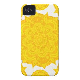 Solar Plexus Chakra Mandala iPhone 4 Cases