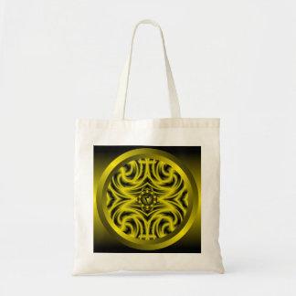 Solar Plexus Chakra Mandala Tote Bag