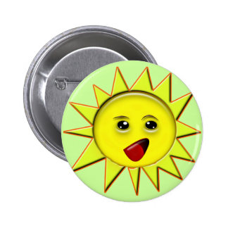 Solar Power Gifts and Promotional Products T-shirt 2 Inch Round Button