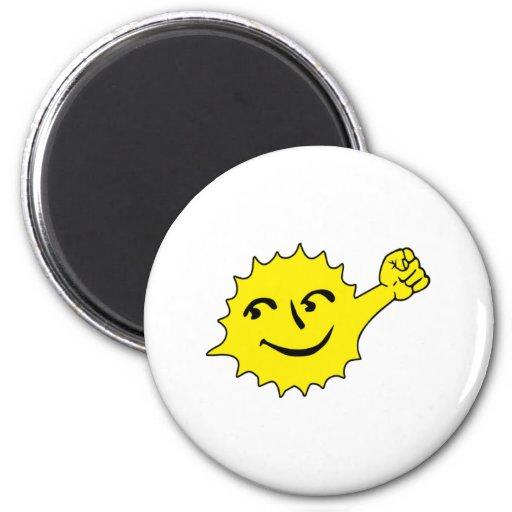 Solar Power Fridge Magnet