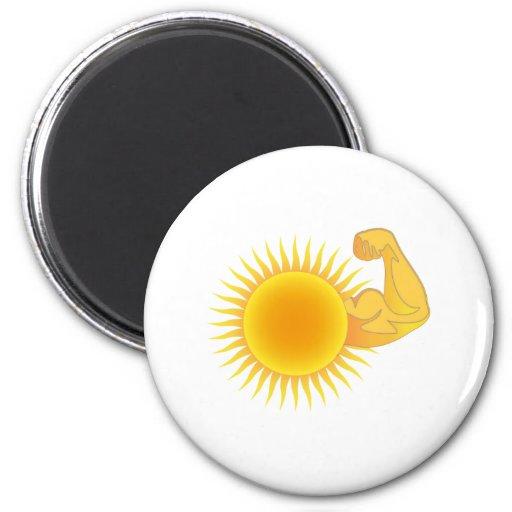 Solar Power Magnets