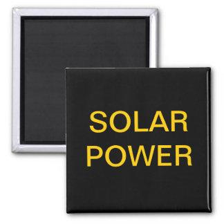 SOLAR POWER SQUARE MAGNET