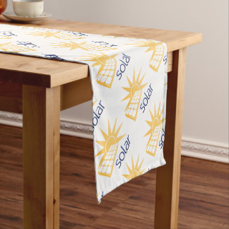 Solar Power Panel Concept Short Table Runner