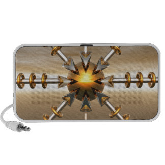 Solar Power Structure Portable Speakers