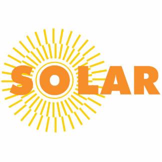 Solar Power Sun Photo Cutout