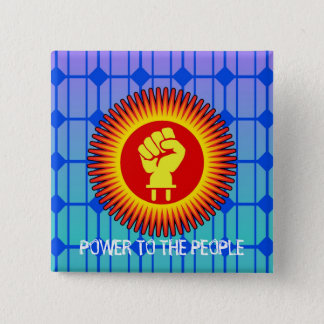 Solar Power to The People - Pin