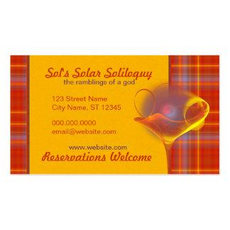 Solar Salud Faery Martini Art Pack Of Standard Business Cards