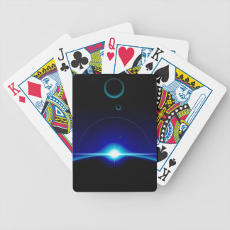 Solar Scene Bicycle Playing Cards