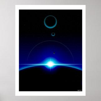 Solar Scene Poster