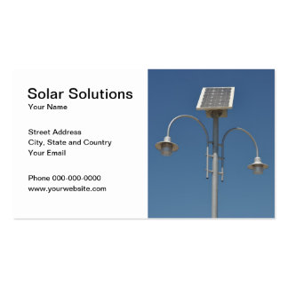 Solar Solutions Business Card