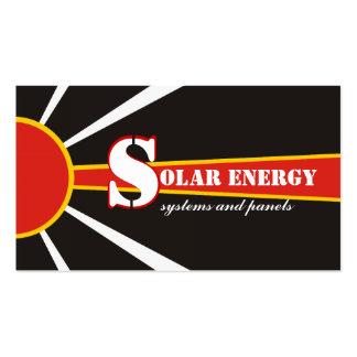 Solar/sun Energy/Power alternative sources Business Cards