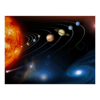 Solar System and Beyond Print