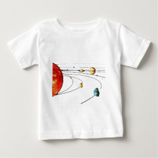 Solar System Baby T-Shirt