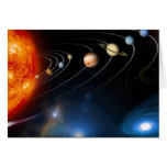 """Solar System"" Card"