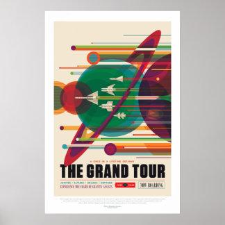 Solar System Grand Tour Poster