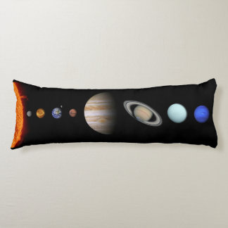 Solar System Inline Outer Space Body Pillow