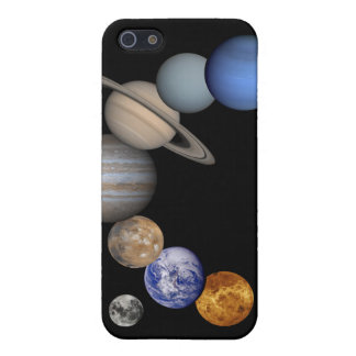 Solar System iPhone 4 Skin iPhone 5 Cover