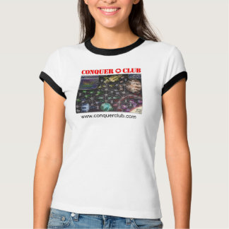 Solar System Map T-Shirt