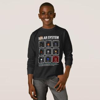 SOLAR SYSTEM MATRIX - astronomical symbols & units T-Shirt