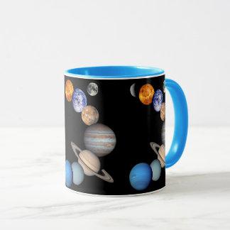 Solar System Montage JPL Planet Photos Mug