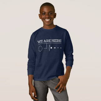 SOLAR SYSTEM - WE ARE HERE T-Shirt