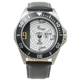Solar system wrist watches