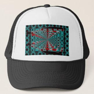 solar trash trucker hat