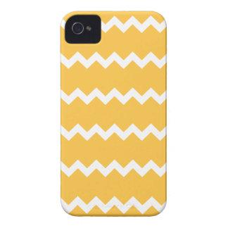Solar Yellow Chevron Iphone 4/4S Case
