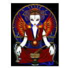 """Solara"" Sun Goddess Fire Angel Postcard"