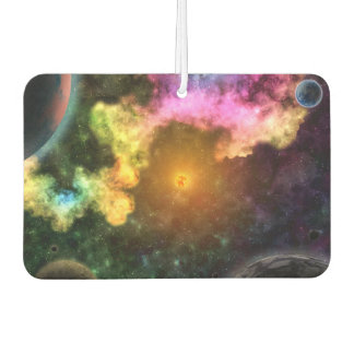 SOLARED SYSTEM (outer space planetary art) ~.jpg Car Air Freshener