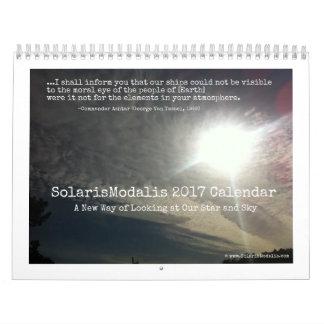 SolarisModalis Medium 12-Month Photo Calendar
