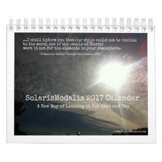 SolarisModalis Small 12-Month Photo Calendar