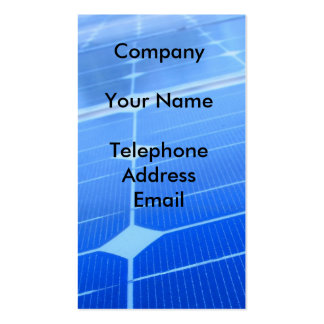 solarpanels20_c1, CompanyYour NameTelephoneAddr... Business Card