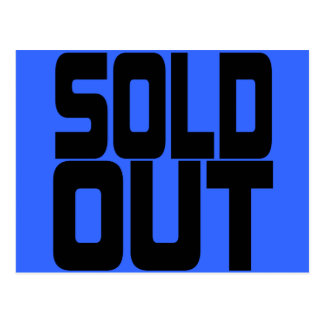 SOLD OUT POSTCARD