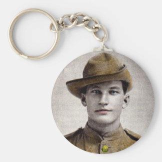 soldat beau de guerre de Boer Porte-clé Rond
