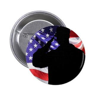 Soldier 2 Inch Round Button