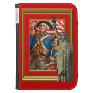 Soldier and drummer boy kindle folio case
