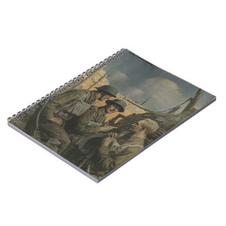 Soldier and Mom Notebook