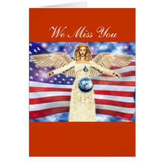 Soldier Angel Card