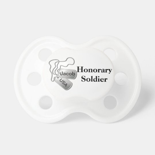 Soldier Baby Pacifier
