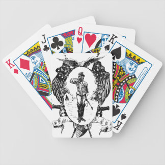 Soldier Bicycle Playing Cards