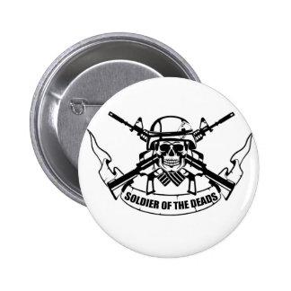 SOLDIER design vintage new 2 Inch Round Button