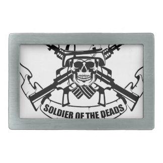 SOLDIER design vintage new Rectangular Belt Buckle