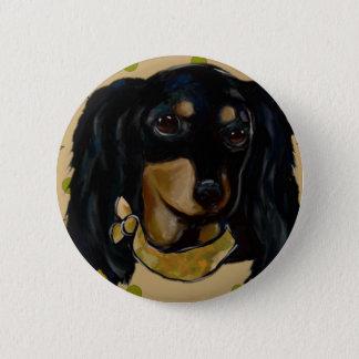 Soldier  Doxie 2 Inch Round Button