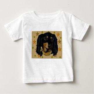 Soldier  Doxie Baby T-Shirt