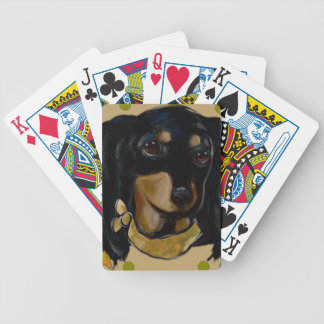 Soldier  Doxie Bicycle Playing Cards