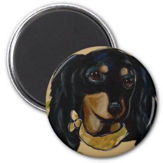 Soldier  Doxie Magnet