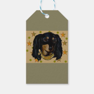 Soldier  Doxie Pack Of Gift Tags