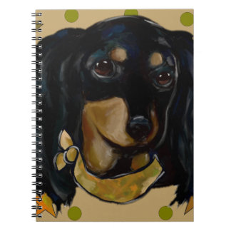 Soldier  Doxie Spiral Notebook