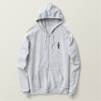 Soldier Embroidered Hoodie